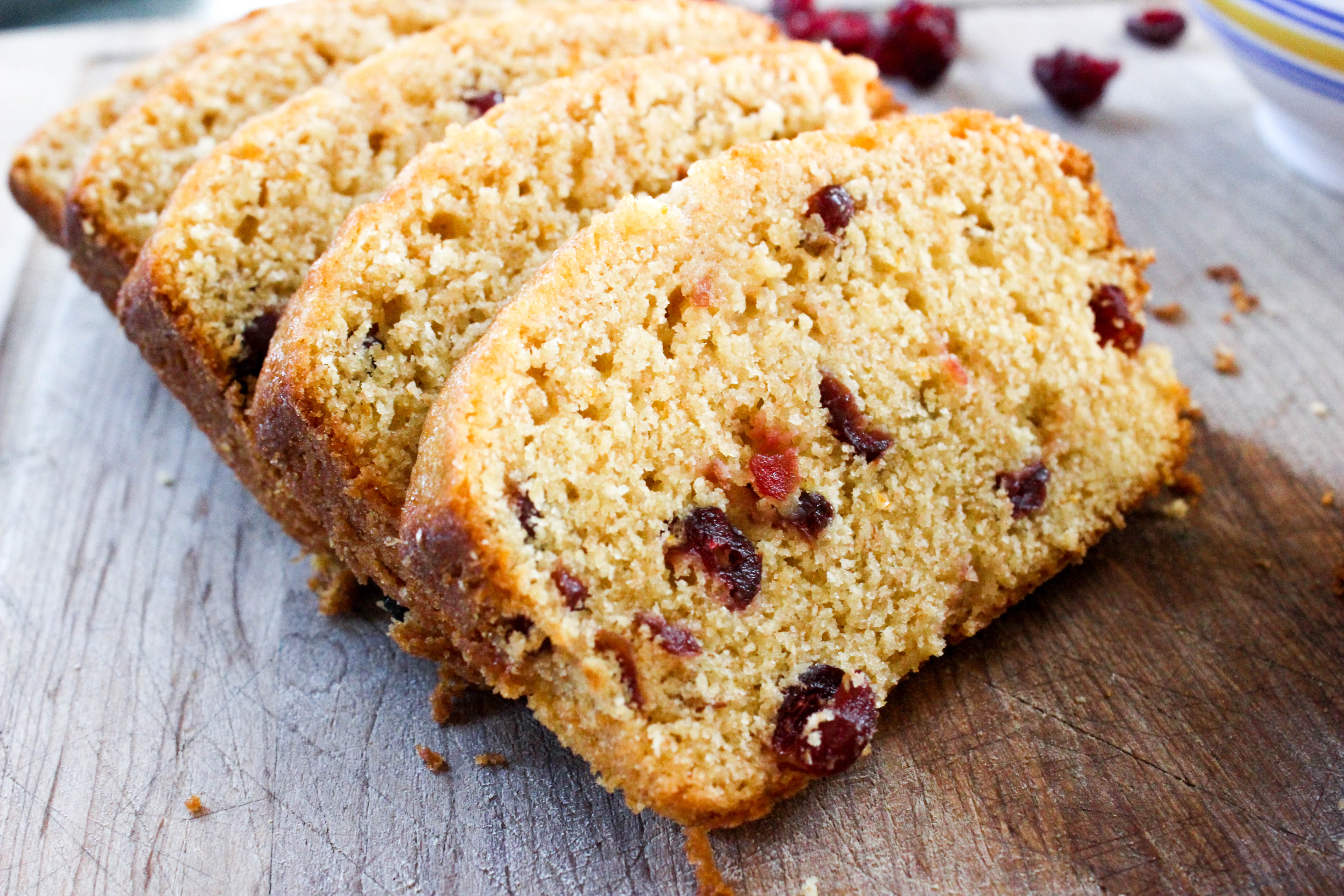 Orange Cranberry Bread - Good Habits & Guilty ...