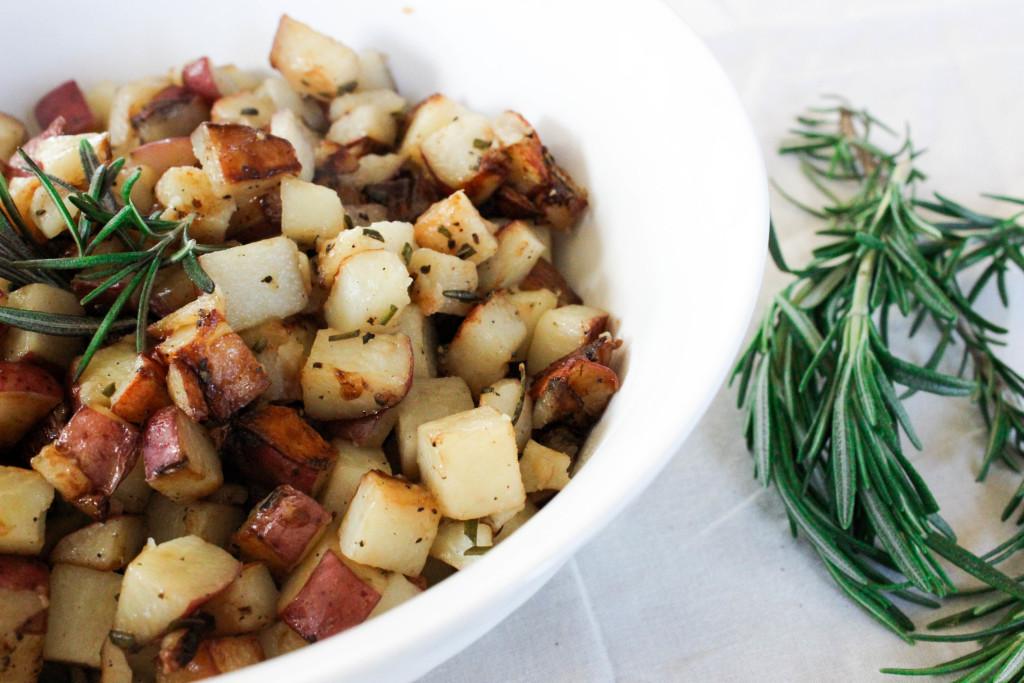 Rosemary Breakfast Potatoes - Good Habits & Guilty PleasuresGood ...