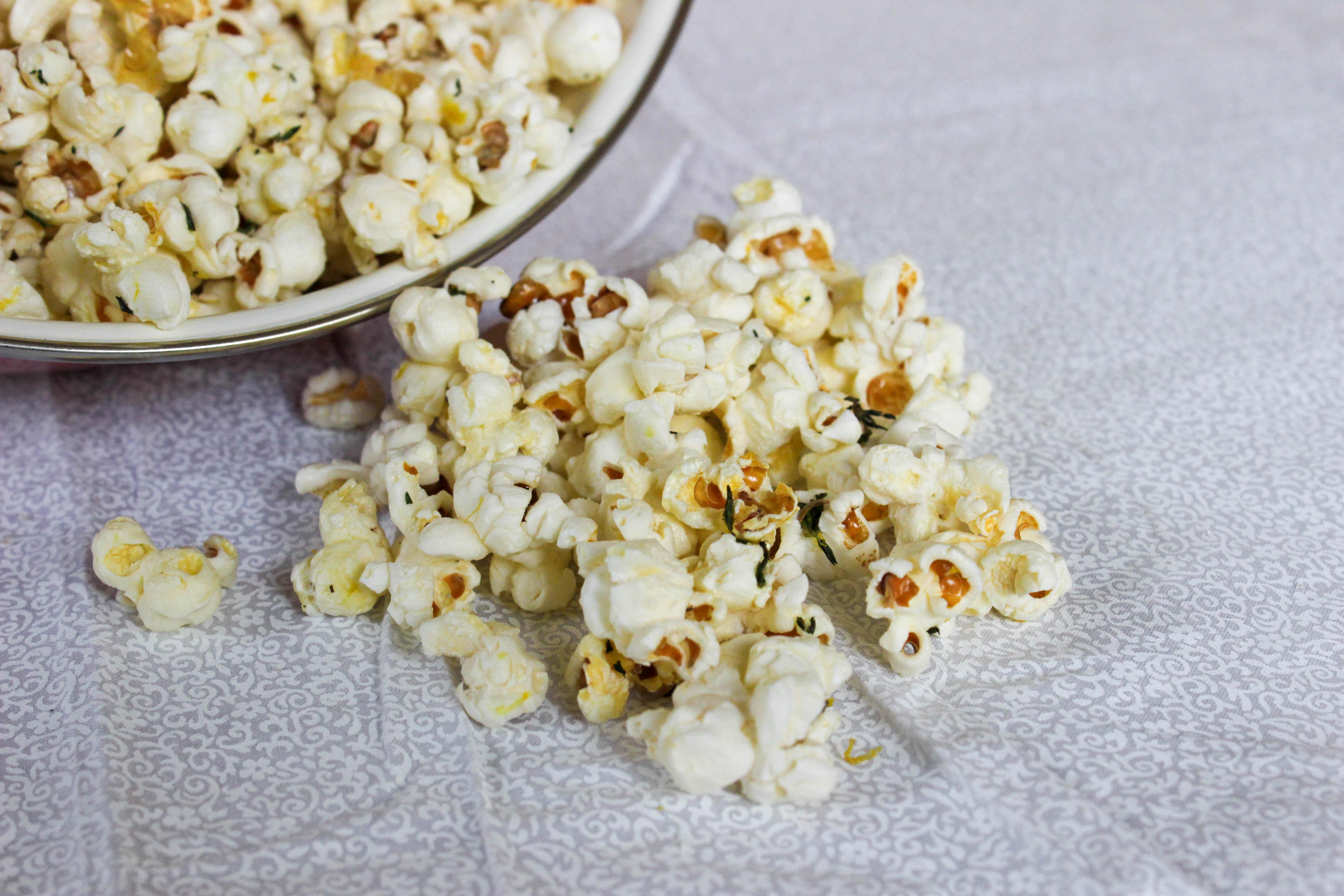 Lemon Thyme Popcorn