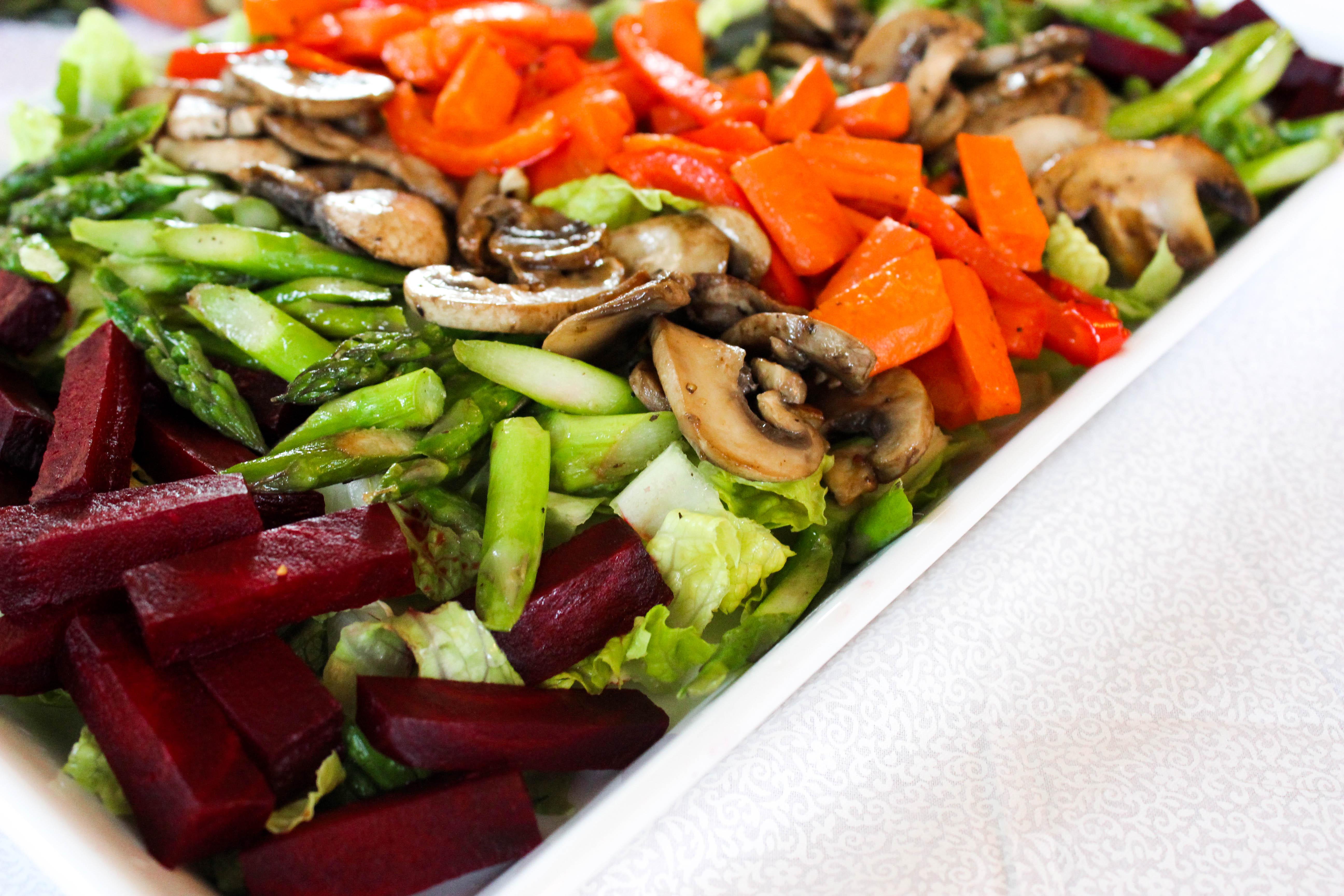 Veggie Rainbow Salad