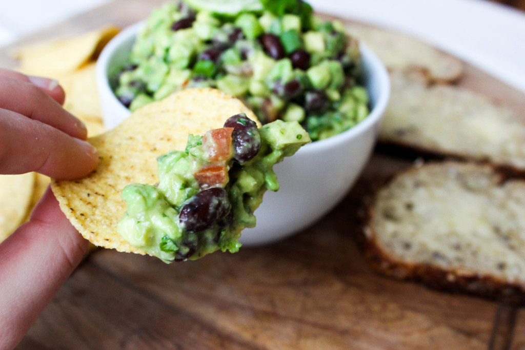 Spiced Black Bean Guacamole