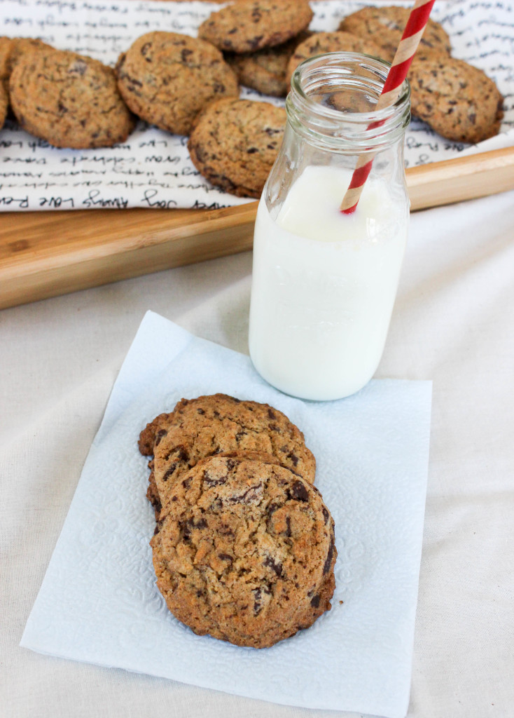 Speckled Chocolate Chip Cookies