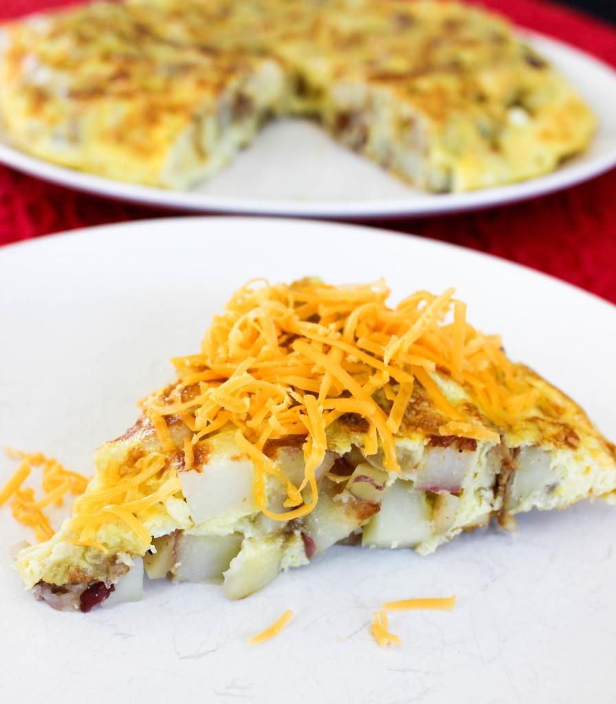 Easy Potato Frittata