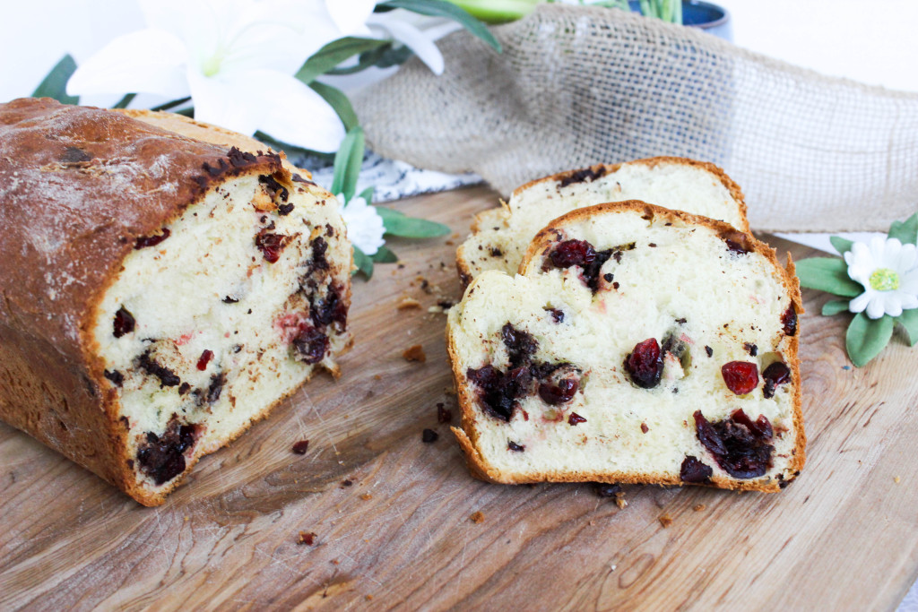 Cranberry Chocolate Brioche