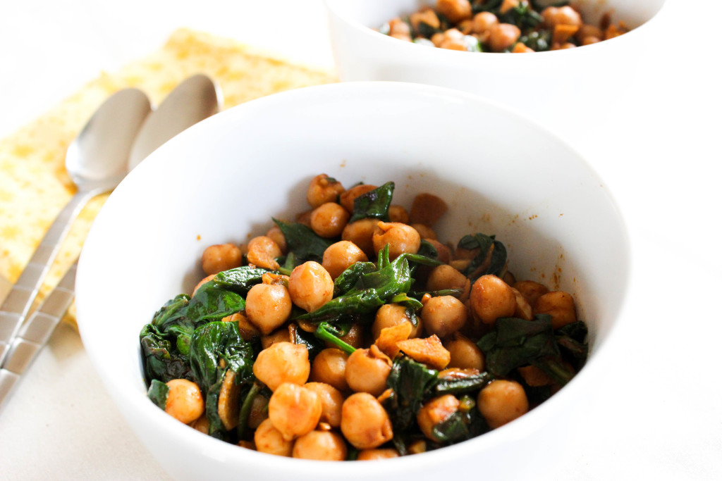 Spanish Spinach and Chickpeas - Good Habits & Guilty PleasuresGood ...
