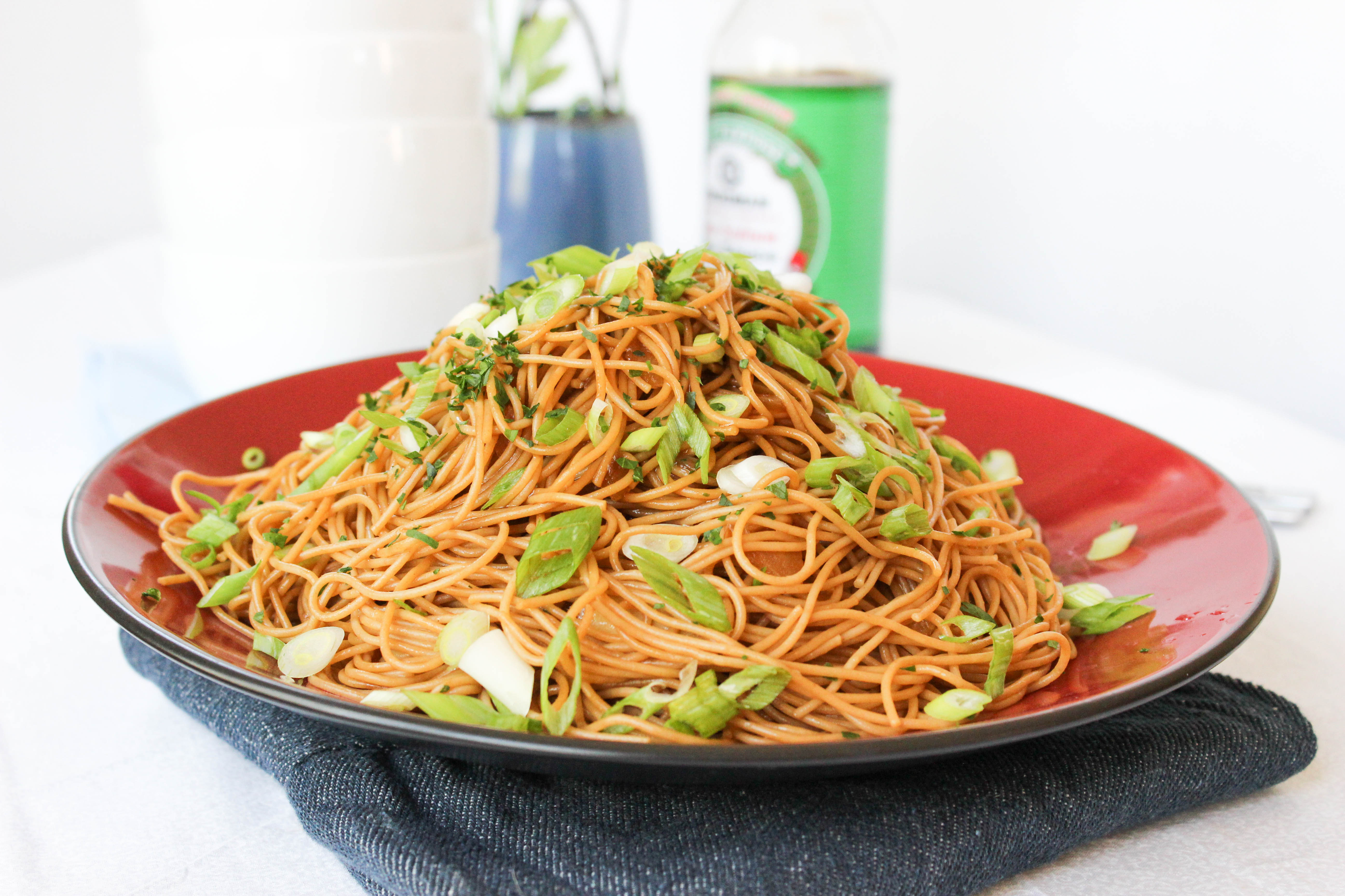 Bami {Javanese Sweet Soy Noodles}