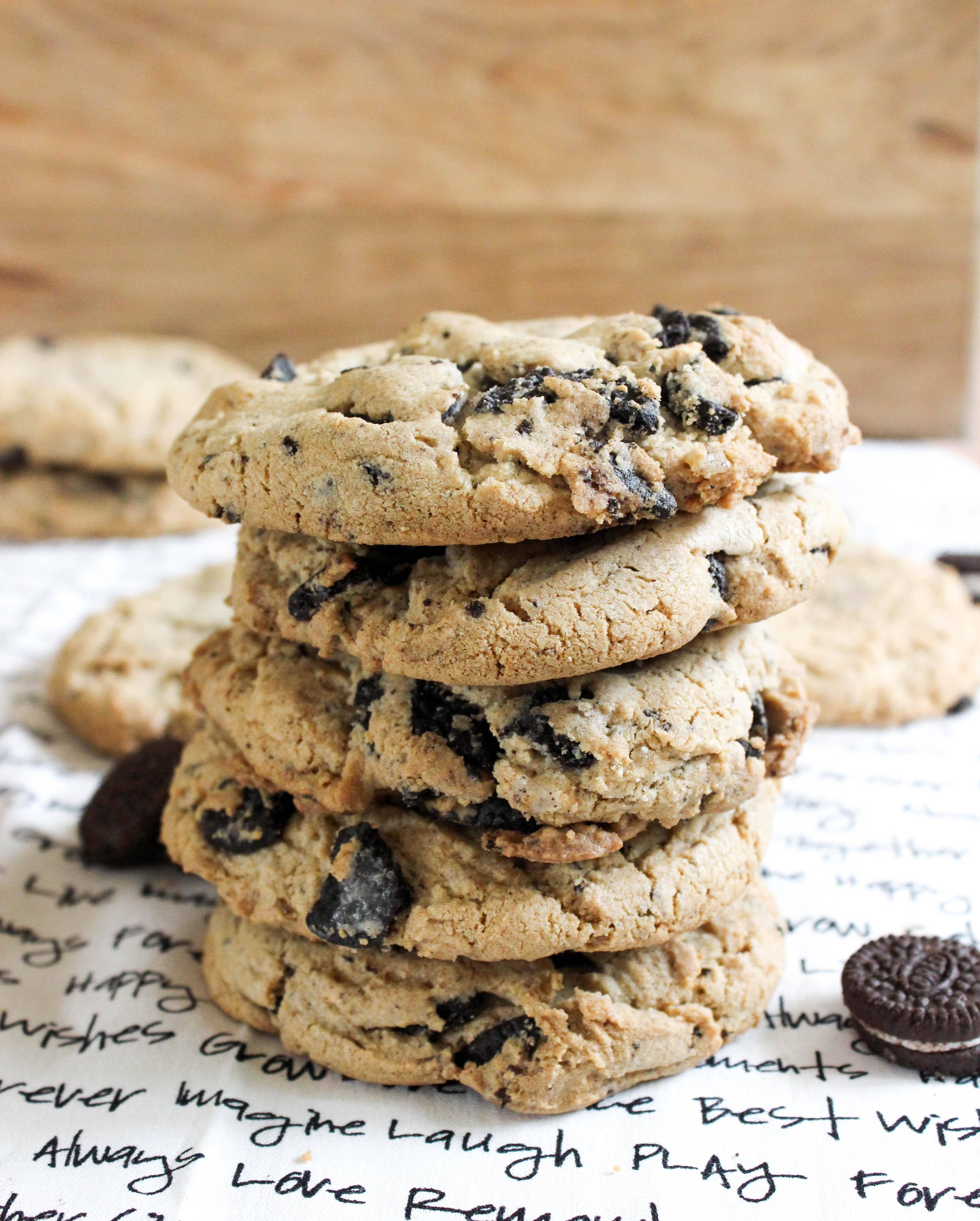 Cookies and Cream Monster Cookies