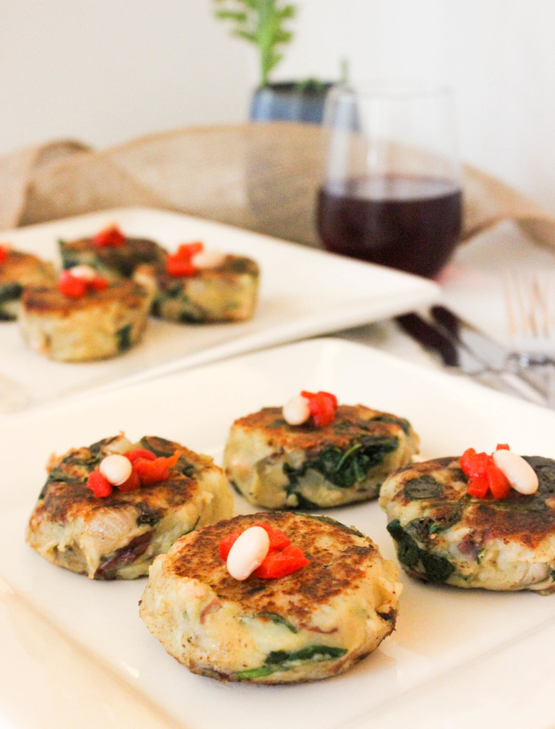 Potato and White Bean Cakes