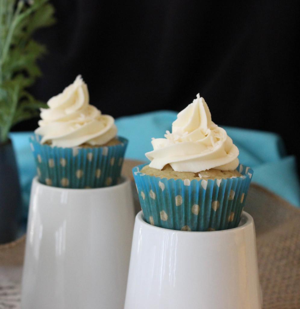 Vegan Coconut Cupcakes