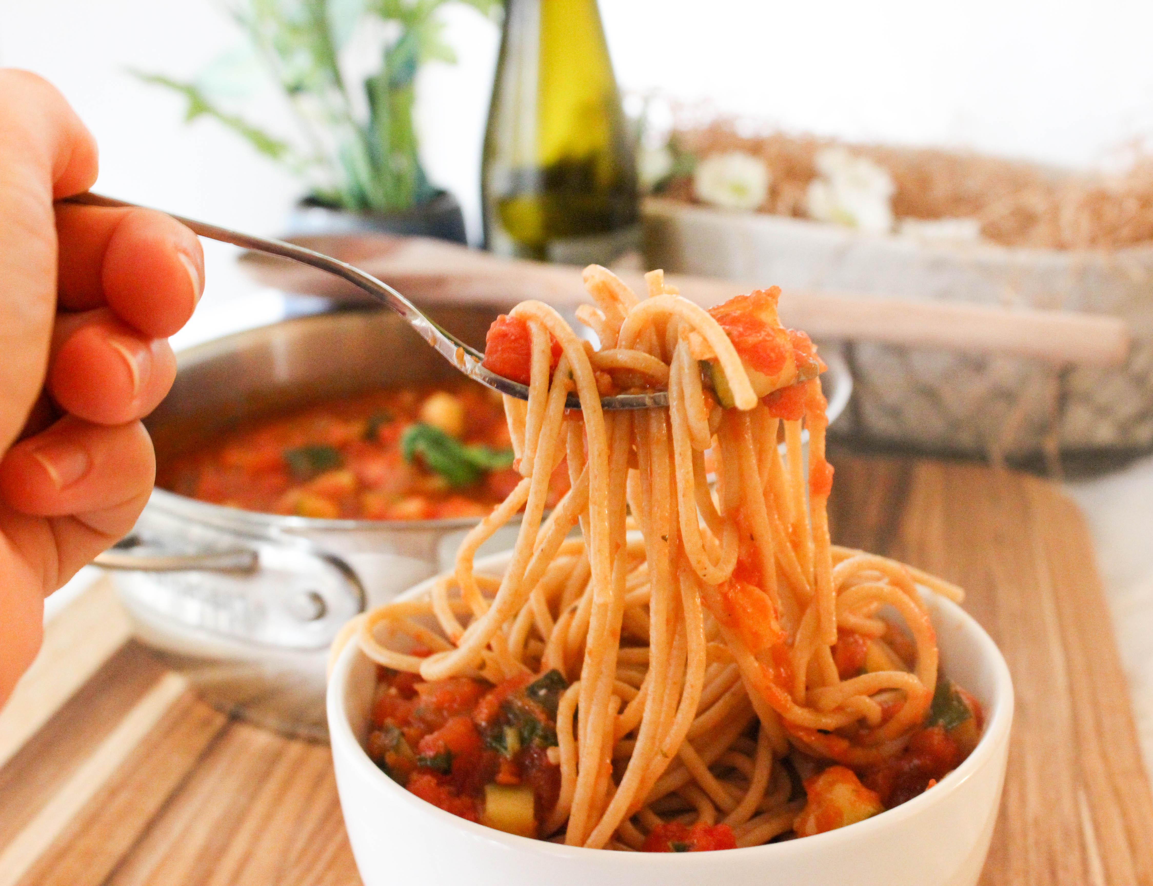 Zucchini Pasta Fresca