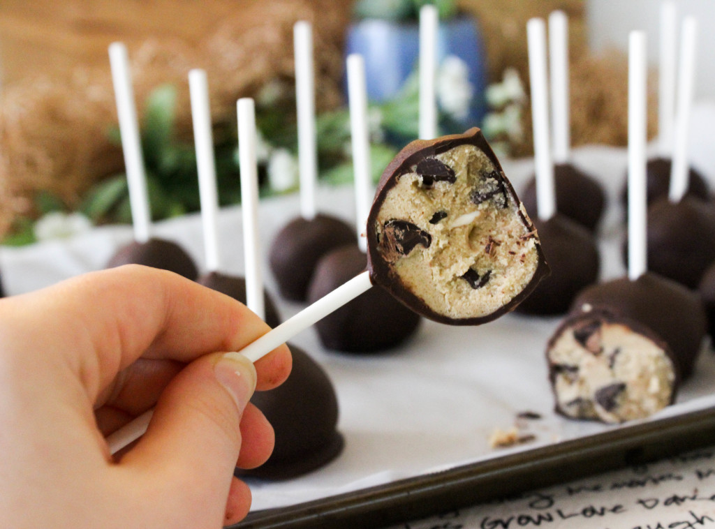 Cookie Dough Pops