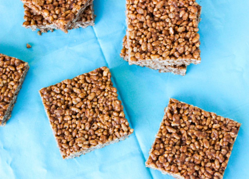 Peanut Butter Protein Rice Krispies