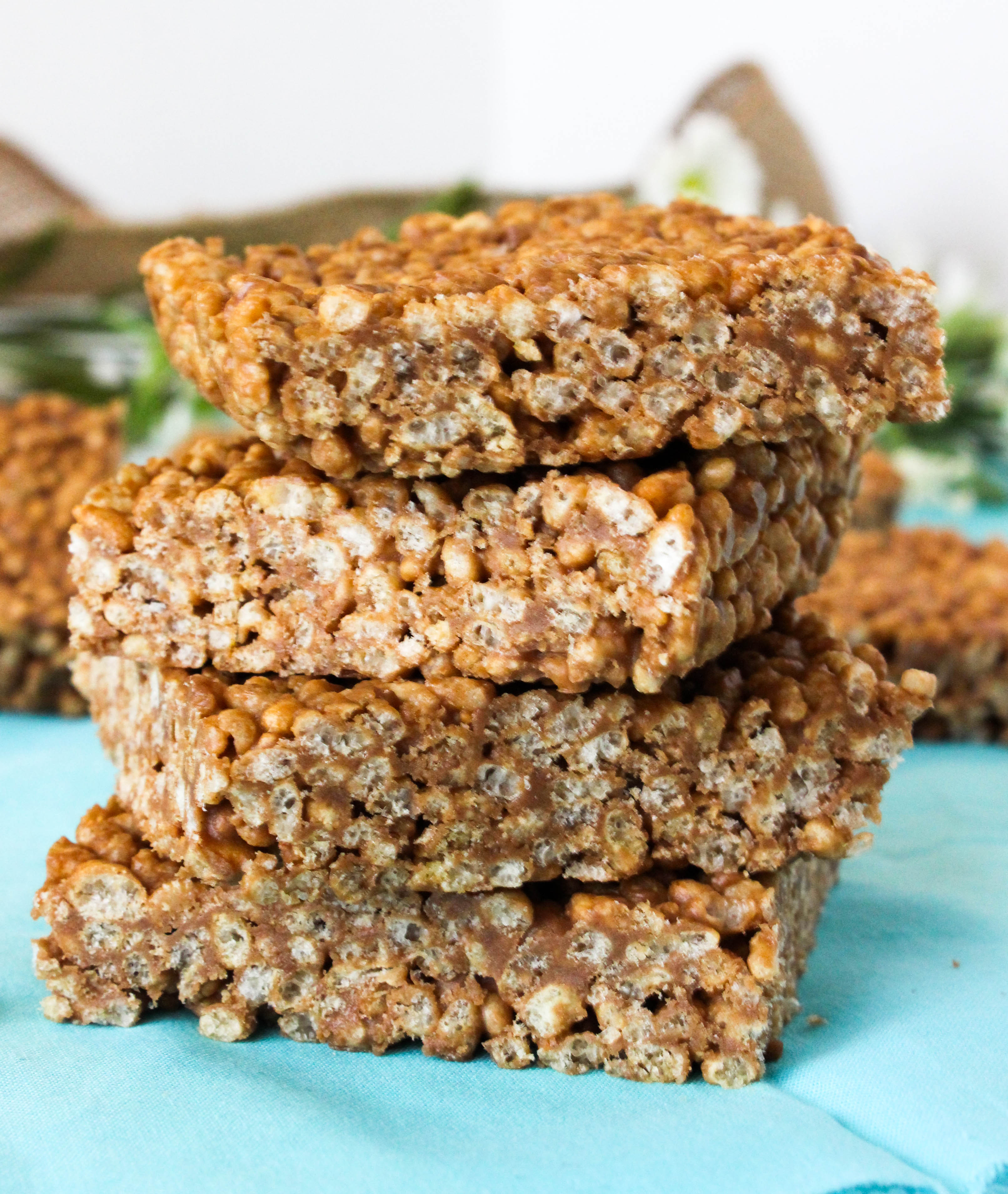 Peanut Butter Protein Rice Krispies - Good Habits and Guilty ...
