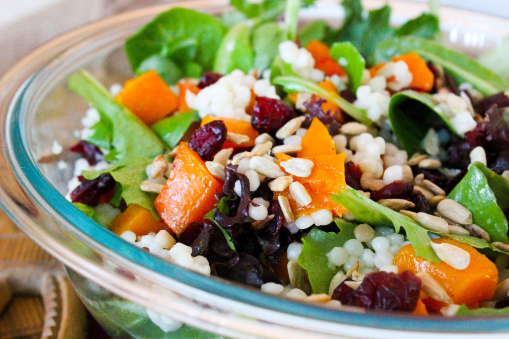 Butternut Squash and Israeli Couscous Salad