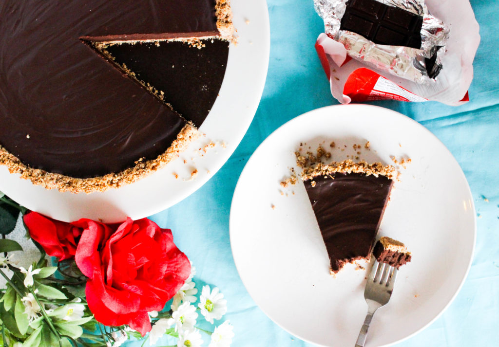 Vegan Chocolate Almond Tart