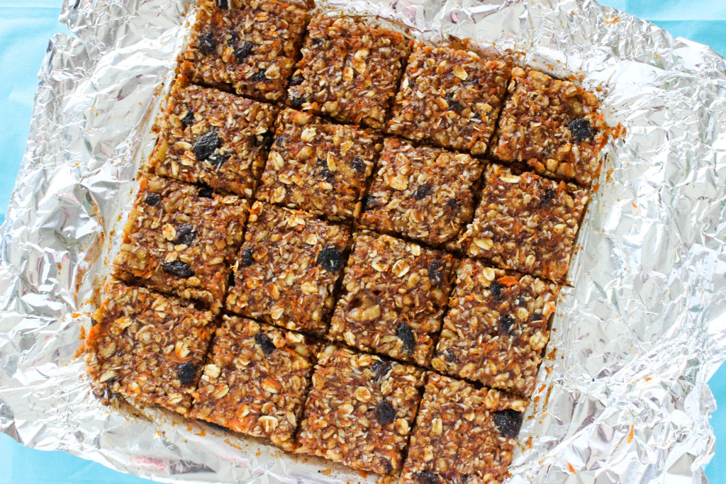 No Bake Carrot Cake Bars