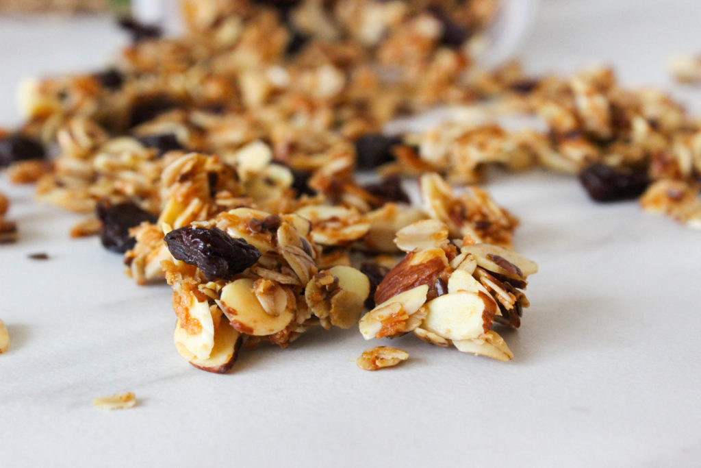 Cherry Almond Cluster Granola