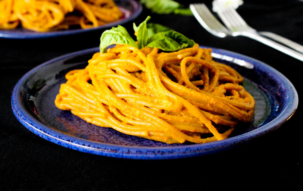 Vegan Roasted Red Pepper Pesto