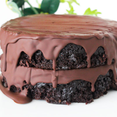 Double Layer Chocolate Mousse Cake