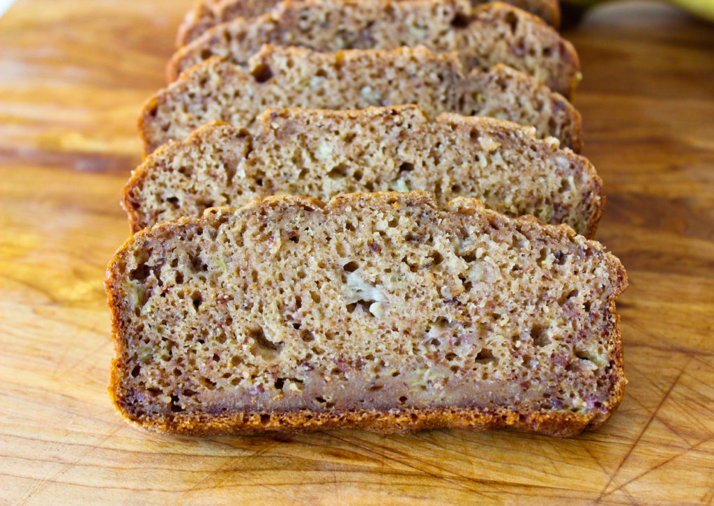 The BEST Vegan Banana Bread (no oil!)