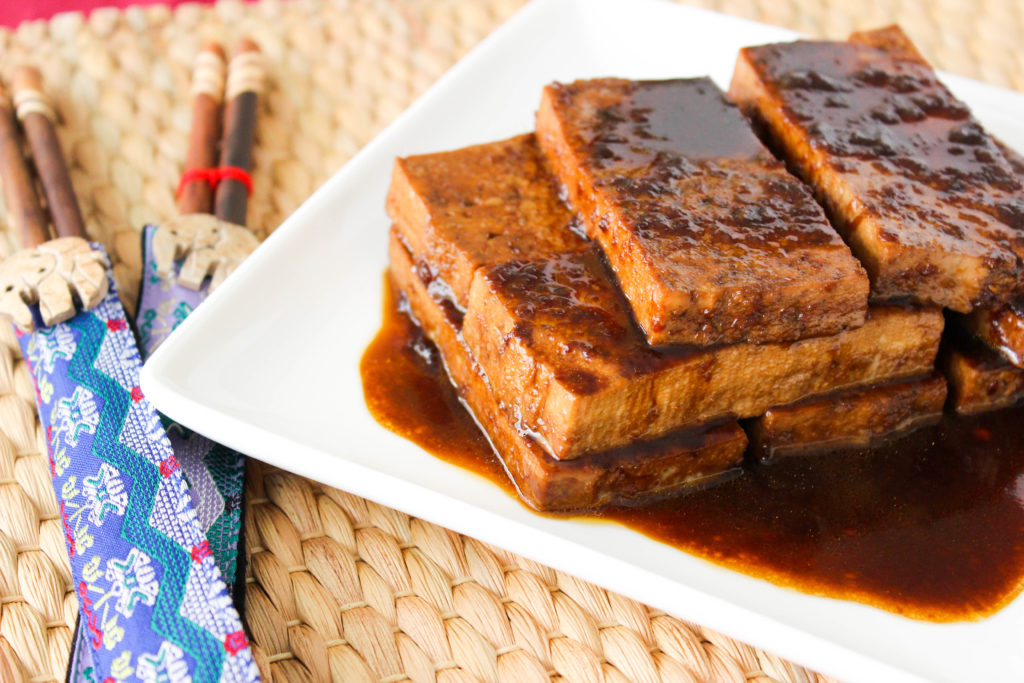 The BEST Ginger Soy Tofu Recipe! www.goodandguiltyvegan.com