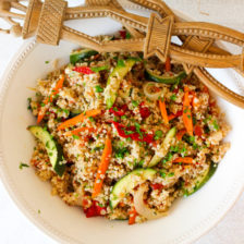 Mixed Roasted Vegetable Bulgur