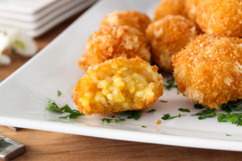 Vegan Fried Risotto Balls