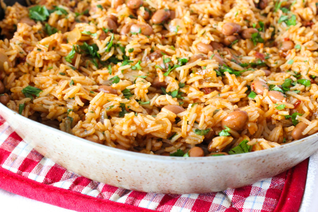 Spicy Chipotle Beans and Rice
