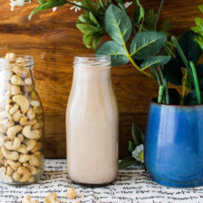 Chocolate Hazelnut Cashew Milk