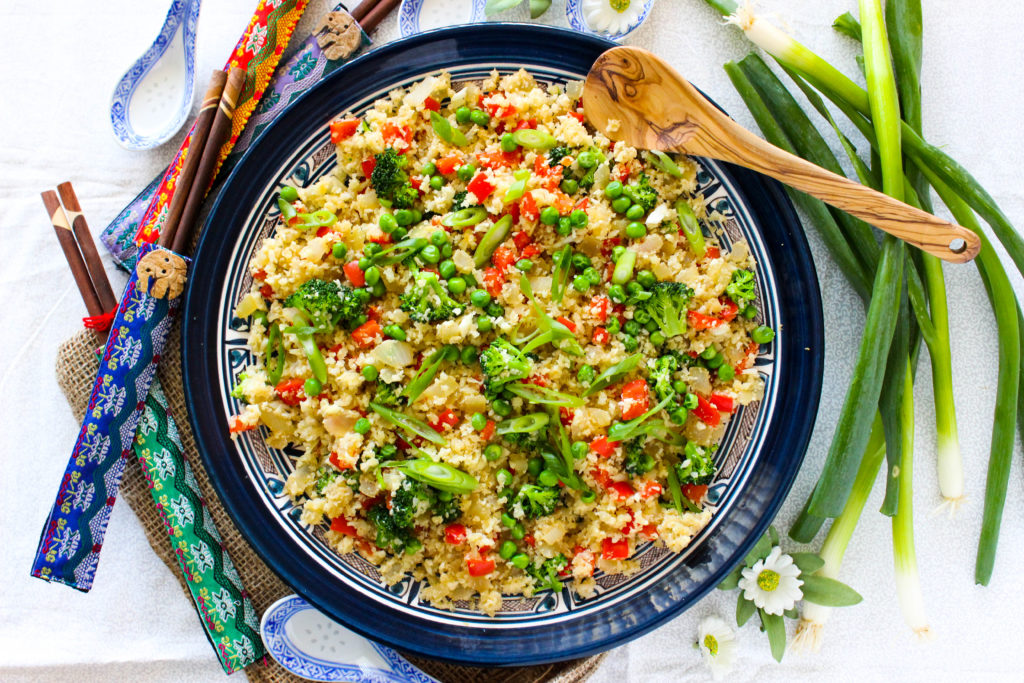 "Veggie Cauliflower Fried ""Rice"""