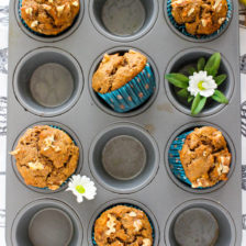 1 Bowl Banana Nut Muffins