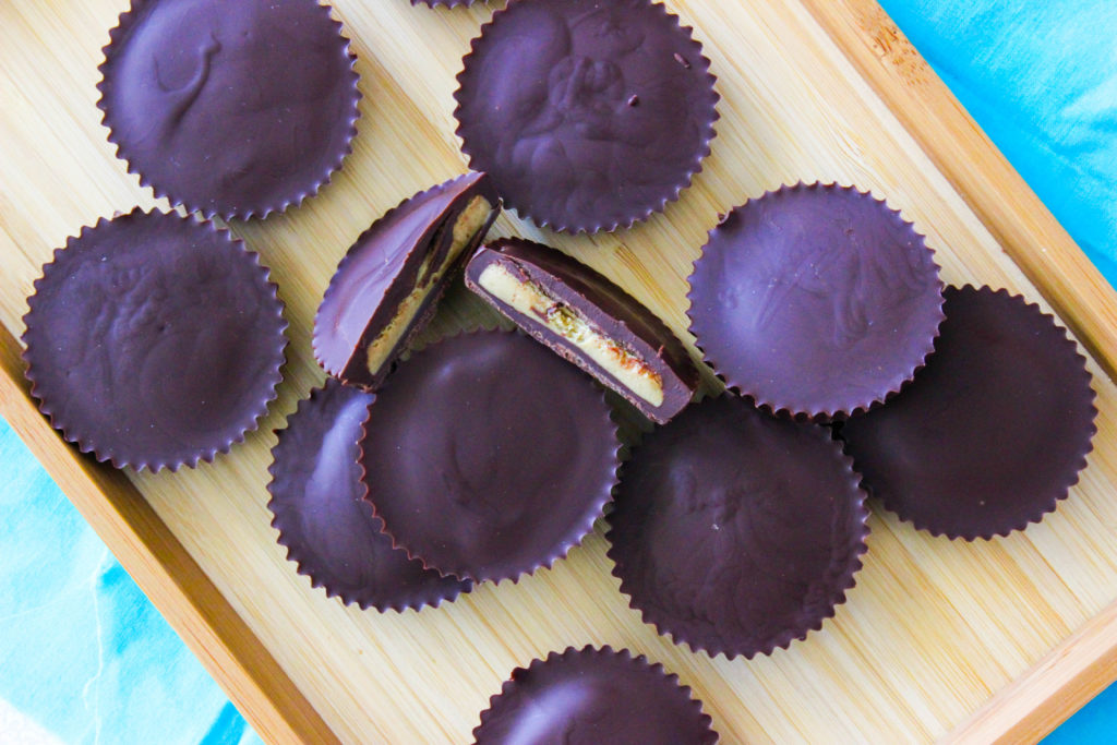 4 Ingredient Sunbutter Cups