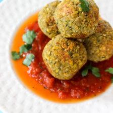 """Quinoa Lentil """"Meatballs"""""""