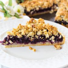 Blueberry Almond Crumb Tart