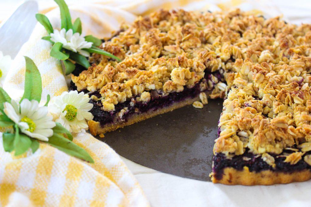 Blueberry Lemon Crumb Tart